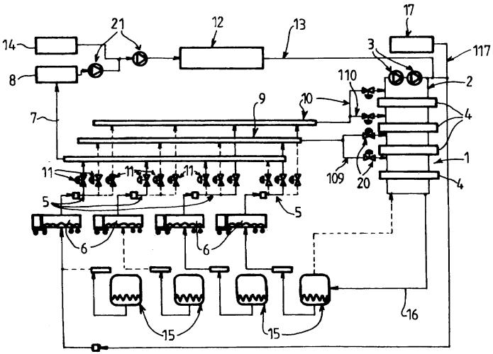 Установка и способ производства жидкого гелия