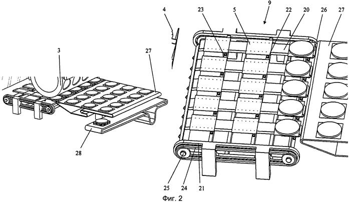 Устройство и способ производства с перемежителем