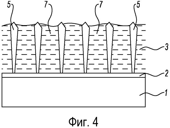 Тепловой барьер для лопатки турбины со столбчатой структурой с разнесенными столбиками