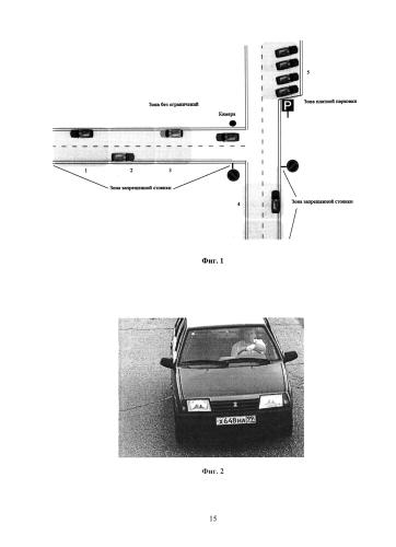 Способ определения и фиксации нарушений правил дорожного движения и правил парковки транспортных средств (варианты)