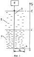 Способ определения положения границы раздела двух веществ в емкости