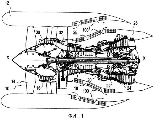 Многослойная панель акустической обработки, гондола турбореактивного двигателя и турбореактивный двигатель
