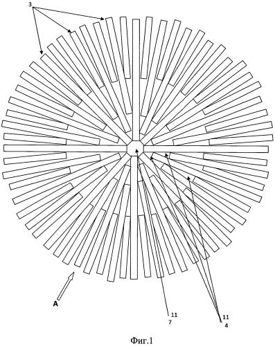 Ротор нагнетателя центробежного вытеснения (варианты)