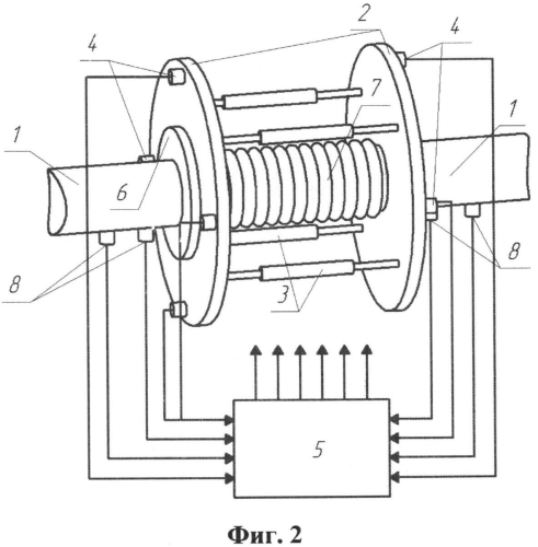 Устройство активного гашения гидродинамического шума в системах трубопроводов