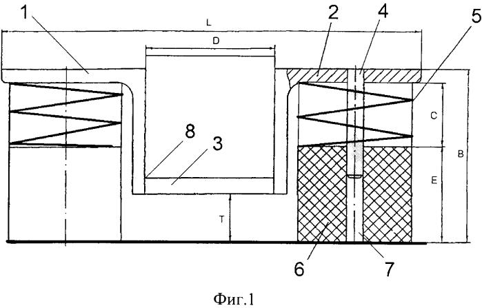 Виброизолятор стареевой для оборудования