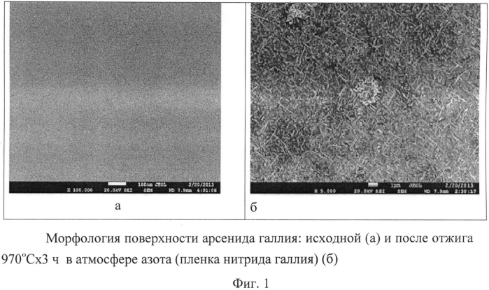 Способ выращивания пленки нитрида галлия