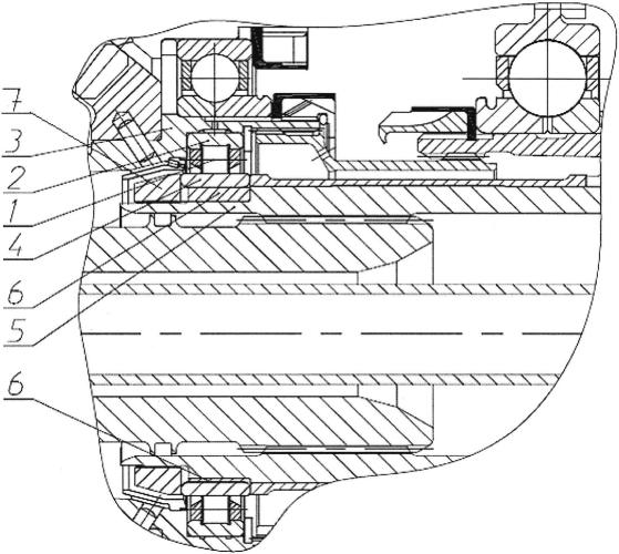 Опора ротора турбомашины