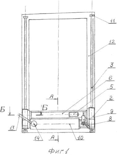 Устройство для автоматизированной очистки окон зданий