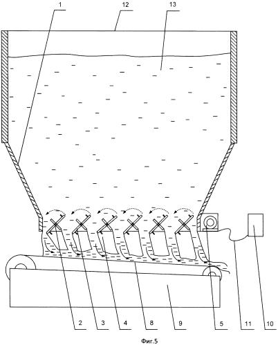 Способ разгрузки и дозирования сыпучих смесей из емкости