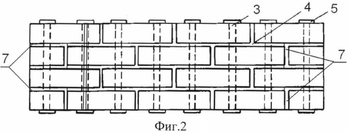 Кирпичная сейсмостойкая стеновая панель кочетова