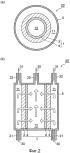 Мембрана с селективной паропроницаемостьюи способ ее использования для отделения пара от газовой смеси