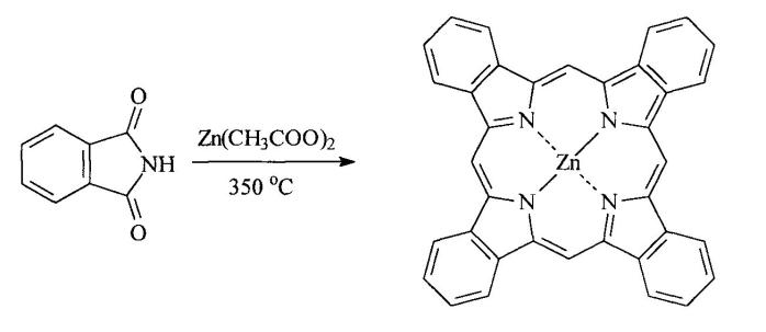 Способ получения комплексов лютеция и гадолиния с тетрабензопорфирином