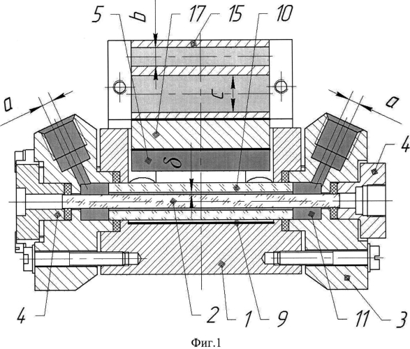 Квантрон твердотельного лазера с термостабилизацией диодной накачки