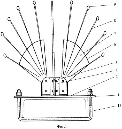 Устройство защиты птиц антиприсадного типа для электротехнического оборудования