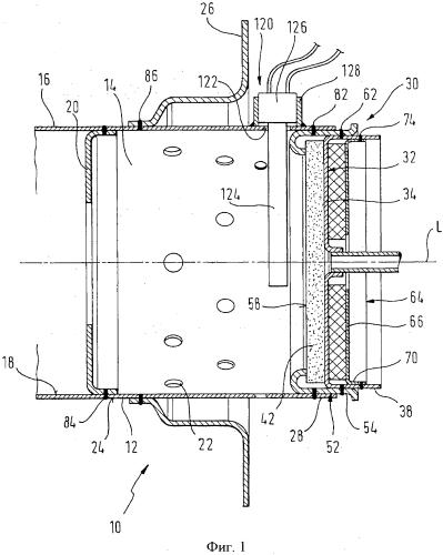 Модуль топочной камеры, в частности, для испарительной горелки