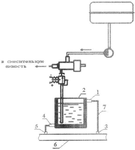 Система приготовления и подачи водно-топливной смеси в двигатели внутреннего сгорания
