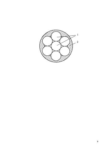 Сердечник для проводов воздушных линий электропередачи