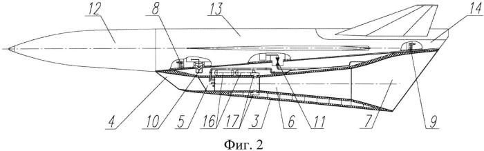 Способ поражения надводных и наземных целей гиперзвуковой крылатой ракетой и устройство для его осуществления