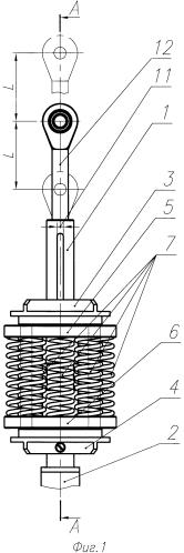 Пружинное устройство нагружения
