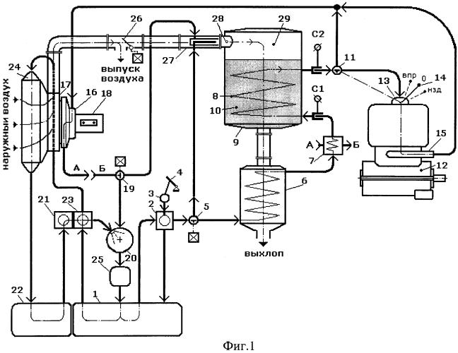 Способ применения топлива и рабочего тела в паросиловом цикле и устройство для его осуществления