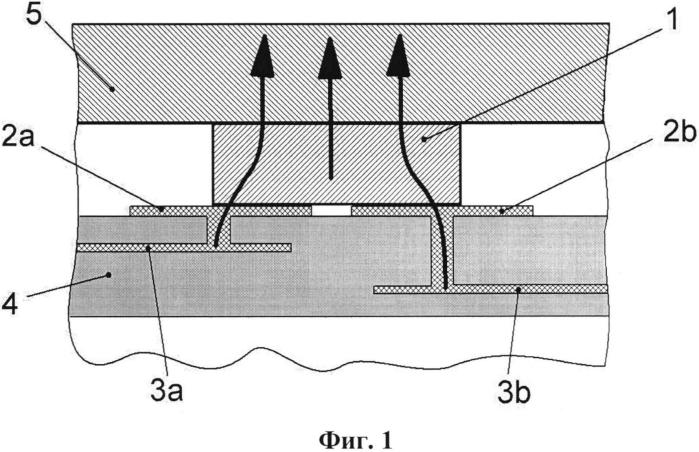 Планарный индуктивный элемент и способ отвода тепла от его обмоток