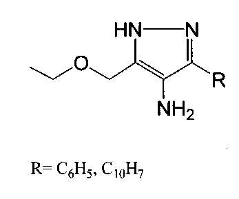 Алкоксиметилзамещенные 1н-4-аминопиразолы