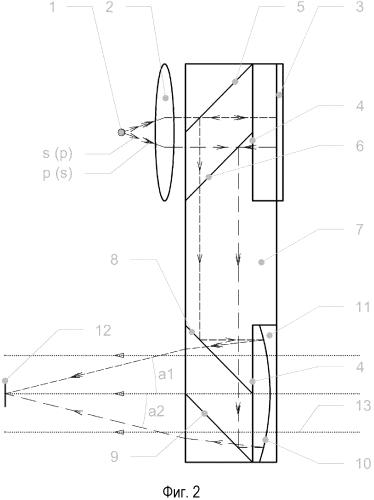 Оптическое устройство для формирования изображений дополненной реальности