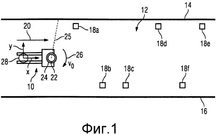 Способ автономной локализации самоходного моторизованного транспортного средства