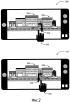 Регулируемый и прогрессивный уличный вид мобильного устройства