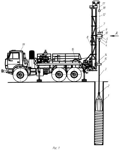 Устройство для образования винтового профиля на стенках скважин под буронабивные сваи (дополнительное)