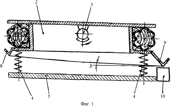 Вибрационная установка для обезвоживания сыпучих материалов