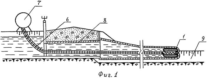 Устройство для строительства канала с гибким противофильтрационным экраном
