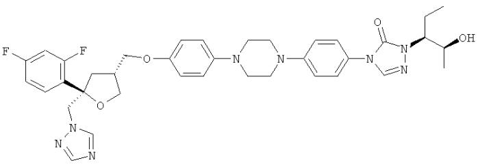 Получение промежуточных продуктов для синтеза позаконазола