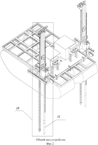 Способ проведения сейсмических исследований в транзитных зонах, устройство для его осуществления