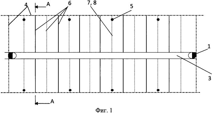 Трехрядный способ термошахтной разработки месторождения высоковязкой нефти
