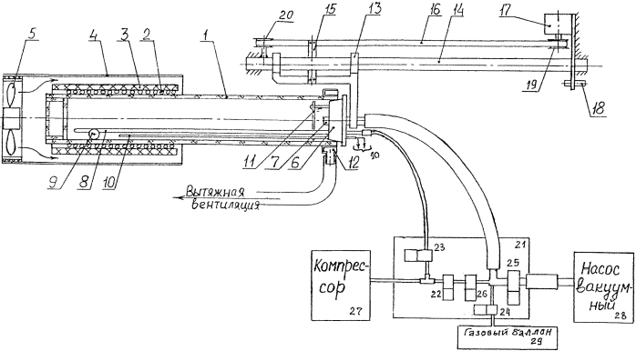 Способ выполнения прецизионных термических процессов в печи инфракрасного нагрева и печь инфракрасного нагрева для выполнения прецизионных термических процессов