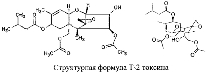 Способ количественного определения т-2 токсина методом дифференциальной вольтамперометрии