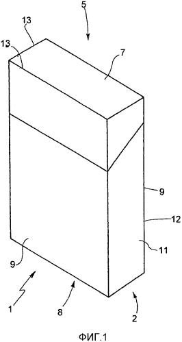 Способ подачи и подающий узел для приделывания купона к манжете и упаковка с шарнирной крышкой, манжетой и купоном