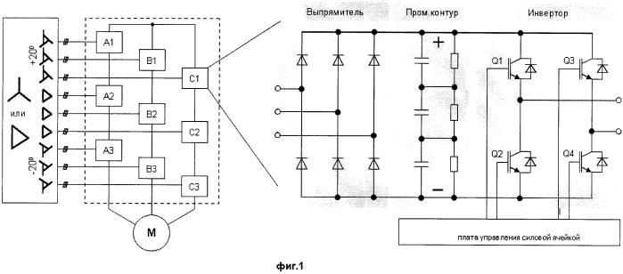 Способ управления торможением частотного электропривода с многоуровневым инвертором напряжения