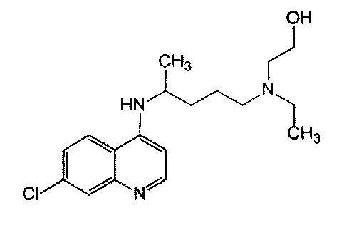 Твердая лекарственная форма гидроксихлорохина немедленного высвобождения и способ ее получения