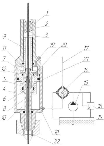 Устройство для заталкивания кабеля в скважину