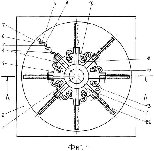 Устройство охлаждения элементов тепловыделяющей аппаратуры