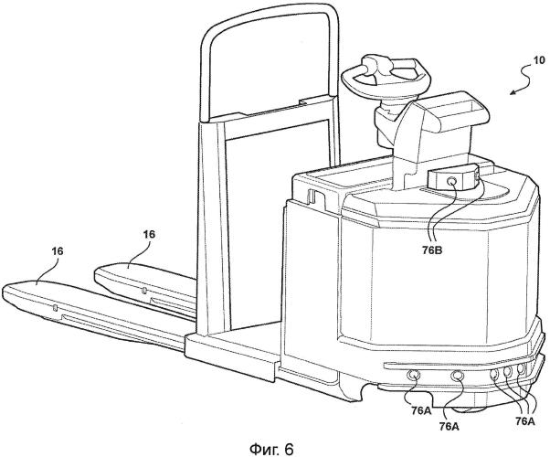 Подъемно-транспортная машина и способ управления подъемно-транспортной машиной