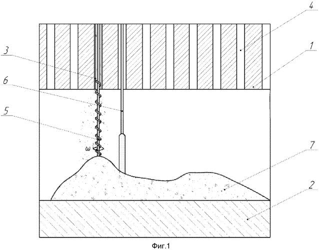 Способ бесполостного заполнения реакторных пространств при выводе из эксплуатации уран-графитового ядерного реактора