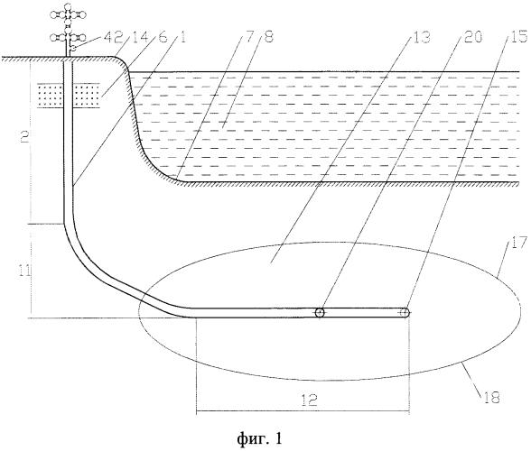 Конструкция береговой многозабойной интеллектуальной газовой скважины для разработки шельфового месторождения