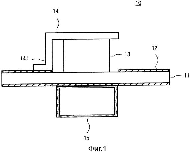 Невзаимный схемный элемент, устройство связи, оснащенное схемой, включающей в себя невзаимный схемный элемент, и способ изготовления невзаимного схемного элемента