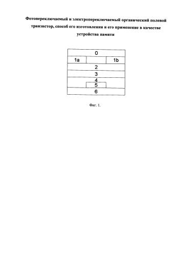 Фотопереключаемый и электропереключаемый органический полевой транзистор, способ его изготовления и его применение в качестве устройства памяти