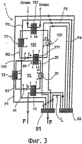 Нагревательное устройство, работающее по необратимому термодинамическому циклу, для нагревательных установок с высокой температурой подачи