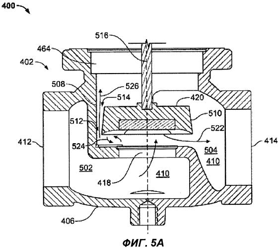 Корпус клапана, имеющий встроенные возможности для уменьшения подъема