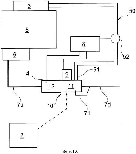 Объединенный теплообменник отопителя кабины и системы рециркуляции выхлопных газов